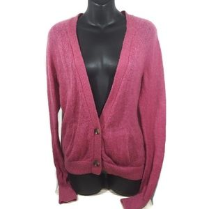 American Eagle Outfitters Cardiga Pink Size Large